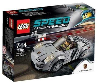 LEGO SPEED CHAMPIONS 75910 PORSCHE 918 SPYDER