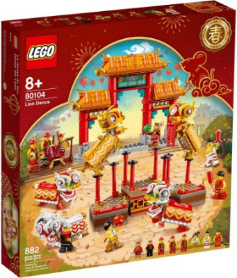 LEGO EXCLUSIVOS 80104 LION DANCE