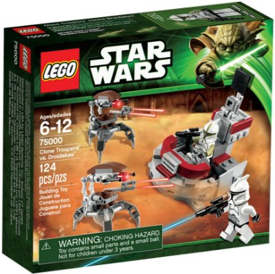 LEGO STAR WARS 75000 CLONE TROOPERS VC DROIDEKAS