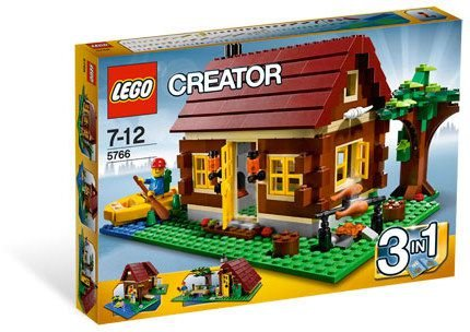LEGO CREATOR 5766 LOG CABIN