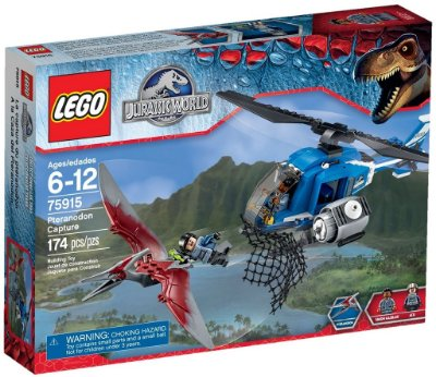 LEGO JURASSIC WORLD 75915 PTERANODON CAPTURE