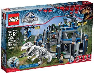 LEGO JURASSIC WORLD 75919 INDOMINUS REX BREAKOUT