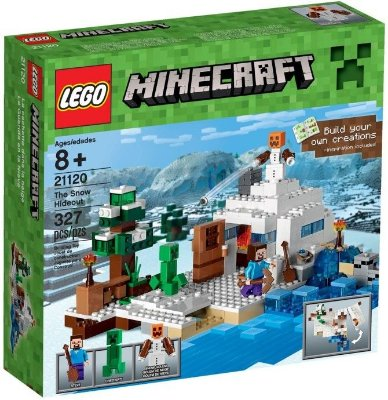 LEGO MINECRAFT 21120 O ESCONDERIJO NEVADO