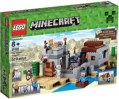 LEGO MINECRAFT 21121 POSTO AVANÇADO DO DESERTO