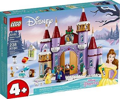 LEGO DISNEY 43180 CELEBRAÇÃO DE INVERNO NO CASTELO DA BELLA