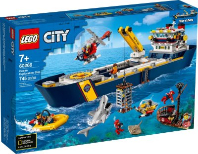 LEGO CITY 60266 OCEAN EXPLORATION SHIP