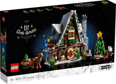 LEGO CREATOR EXPERT 10275 ELF CLUB HOUSE