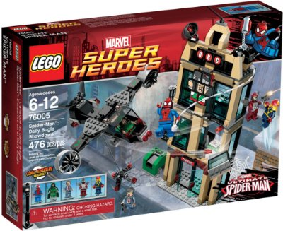 LEGO SUPER HEROES 76005 SPIDER-MAN DAILY BUGLE SHOWDOWN