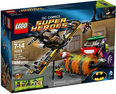 LEGO SUPER HEROES 76013 BATMAN: THE JOKER STEAM ROLLER