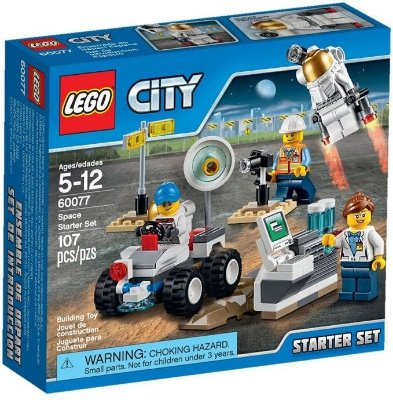 LEGO CITY 60077 SPACE STARTER SET