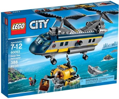 LEGO CITY 60093 DEEP SEA HELICOPTER