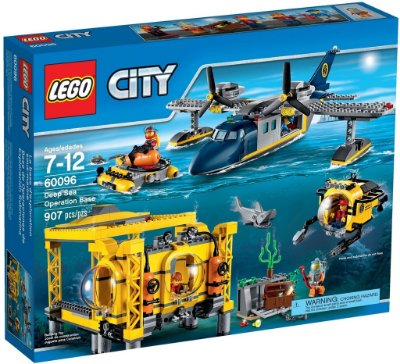 LEGO CITY 60096 DEEP SEA OPERATION BASE (Edição Limitada)
