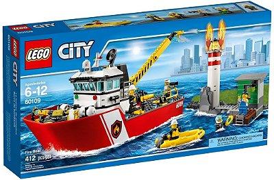 LEGO CITY 60109 FIRE BOAT