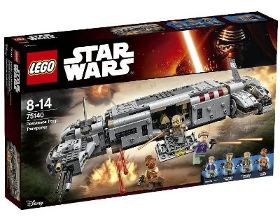 LEGO STAR WARS 75140 RESISTANCE TROOPER TRANSPORTER