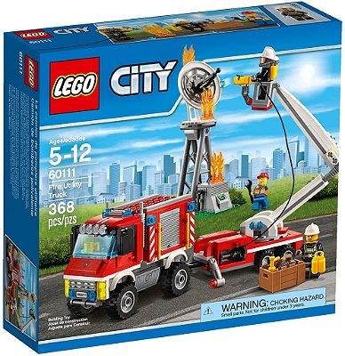 LEGO CITY 60111 FIRE UTILITY TRUCK (Edição Limitada)