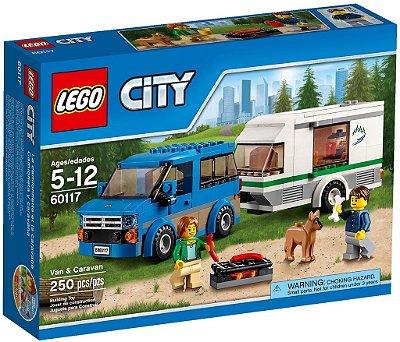 LEGO CITY 60117 VAN & CARAVAN