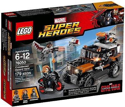 LEGO SUPER HEROES 76050 CROSSBONES' HAZARD HEIST