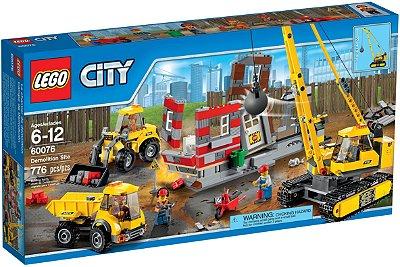 LEGO CITY 60076 DEMOLITION SITE