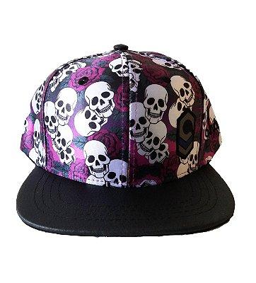 Boné Purple Skull