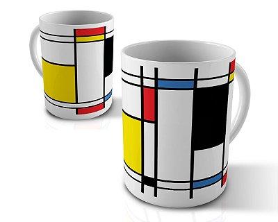 Caneca Mondrian