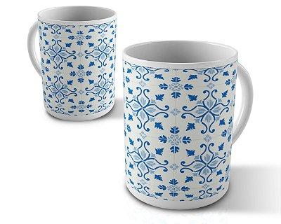Caneca Azulejos