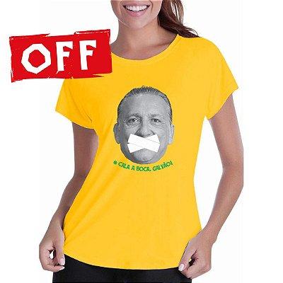 Camiseta Cala a Boca, Galvão (feminina)