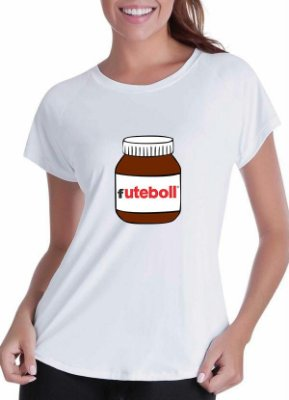 Camiseta Futebol Nutella (feminina)