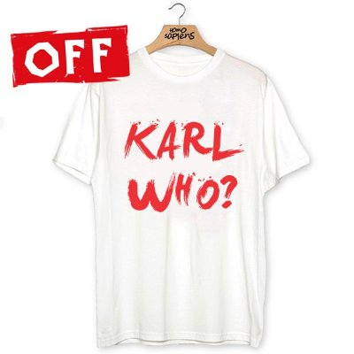 Camiseta Karl Who?