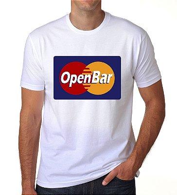 Camiseta Open Bar