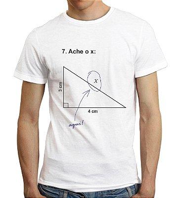 Camiseta Ache o X