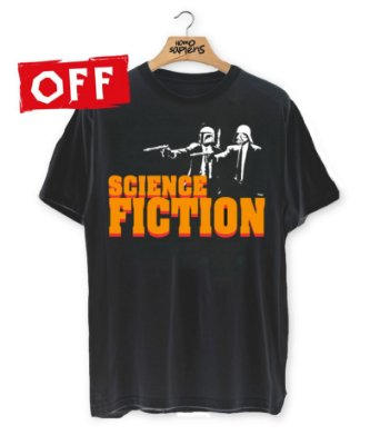 Camiseta SCIENCE FICTION