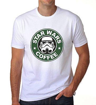 Camiseta Star Wars Coffe