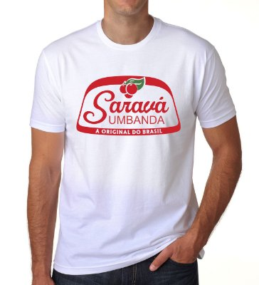 Camiseta Saravá (Branca)