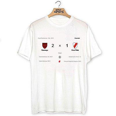 Camiseta Placar Google (Coleção Rubro-Negro)