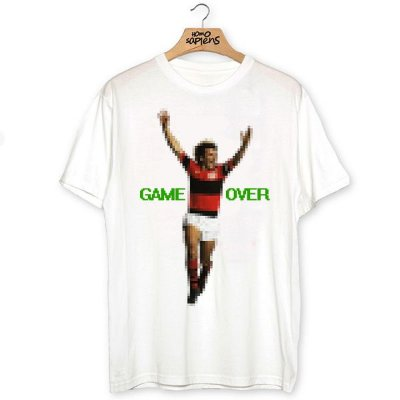 Camiseta Game Over (Galinho)