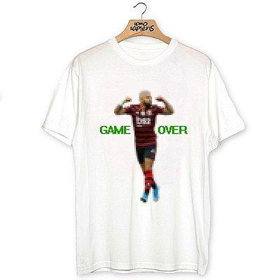 Camiseta Game Over Gabigol (Coleção Rubro-Negro)