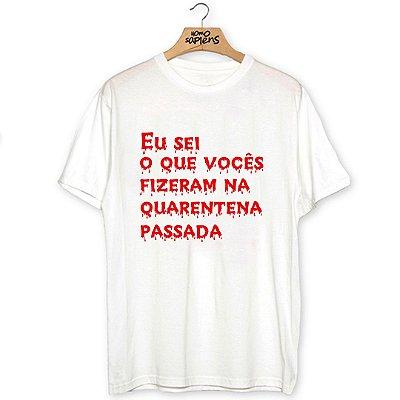 Camiseta Quarentena