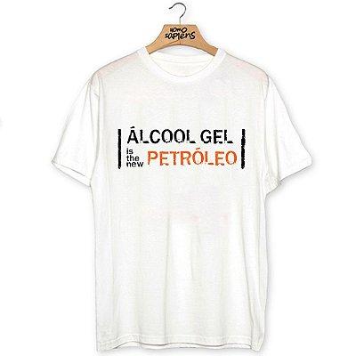 Camiseta Álcool Gel