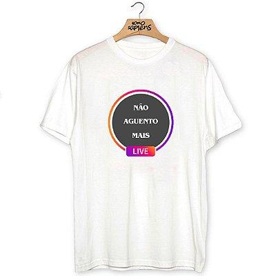 Camiseta Live do Insta