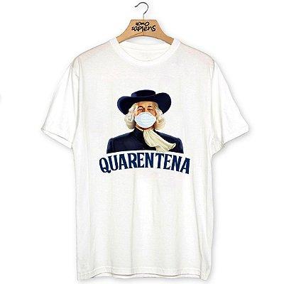Camiseta Máscara Quarentena
