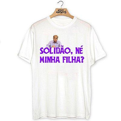 Camiseta Solidão