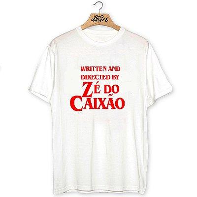 Camiseta Zé do Caixão