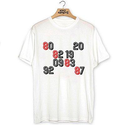 Camiseta Anos Incríveis (Coleção Rubro-Negro)