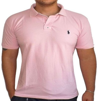 Camisa Polo Ralph Lauren Small Rosa