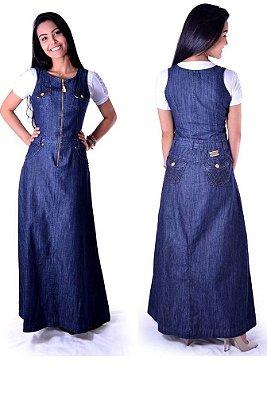 304- Vestido Jeans - Damaris