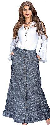RW3880 - Saia Longa Jeans - Row-an