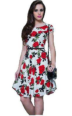10789-Vestido Floral Puro Sharmy