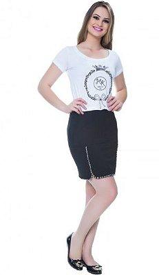 59147 - Vestido Chaton Malha Branco - Hapuk