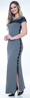59232 - Vestido Cinza Hapuk