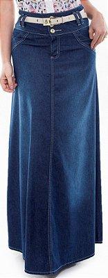 VTS121115 - Saia Jeans Longa Star - Via Tolentino